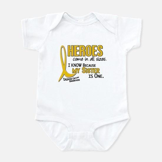 Heroes All Sizes 1 (Sister) Infant Bodysuit