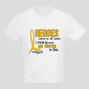 Heroes All Sizes 1 (Sister) Kids Light T-Shirt