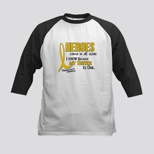Heroes All Sizes 1 (Sister) Kids Baseball Jersey