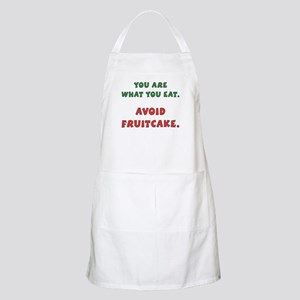 Avoid Fruitcake BBQ Apron