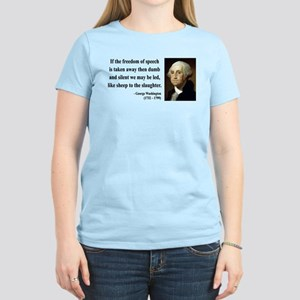 George Washington 3 Women's Light T-Shirt