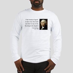 George Washington 3 Long Sleeve T-Shirt