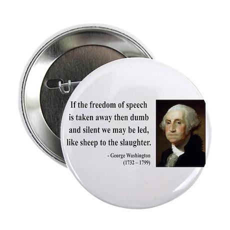 "George Washington 3 2.25"" Button (10 pack)"