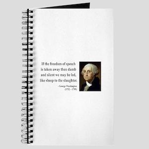 George Washington 3 Journal