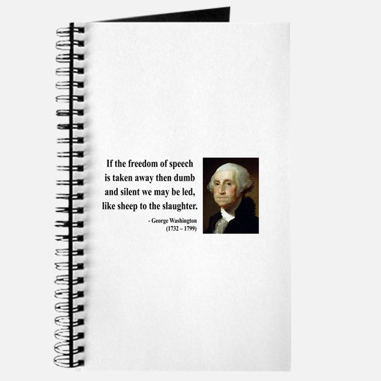 George Washington 3 Journal