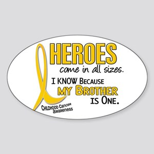 Heroes All Sizes 1 (Brother) Oval Sticker