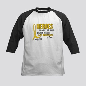 Heroes All Sizes 1 (Brother) Kids Baseball Jersey