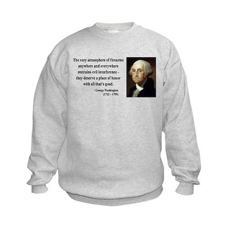 George Washington 13 Kids Sweatshirt