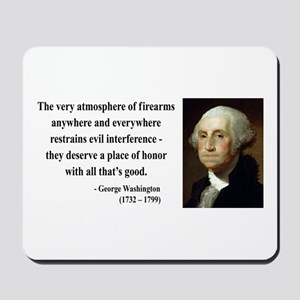 George Washington 13 Mousepad