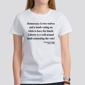 Benjamin Franklin 2 Women's T-Shirt