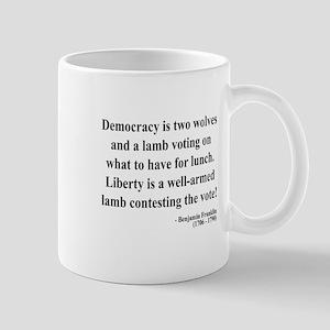 Benjamin Franklin 2 Mug