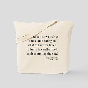 Benjamin Franklin 2 Tote Bag