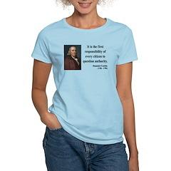 Benjamin Franklin 17 Women's Light T-Shirt