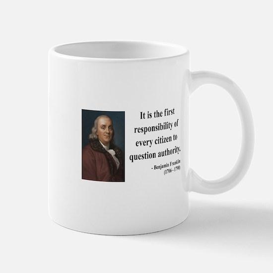 Benjamin Franklin 17 Mug