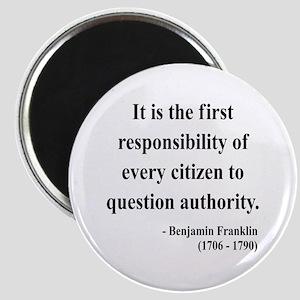 Benjamin Franklin 17 Magnet