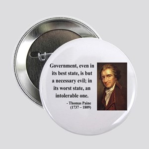 "Thomas Paine 2 2.25"" Button"
