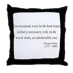 Thomas Paine 2 Throw Pillow