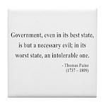Thomas Paine 2 Tile Coaster