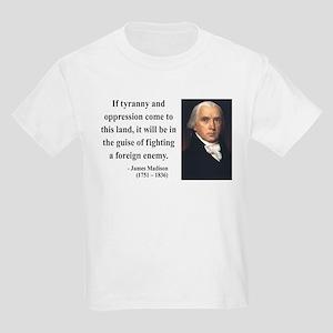 James Madison 2 Kids Light T-Shirt