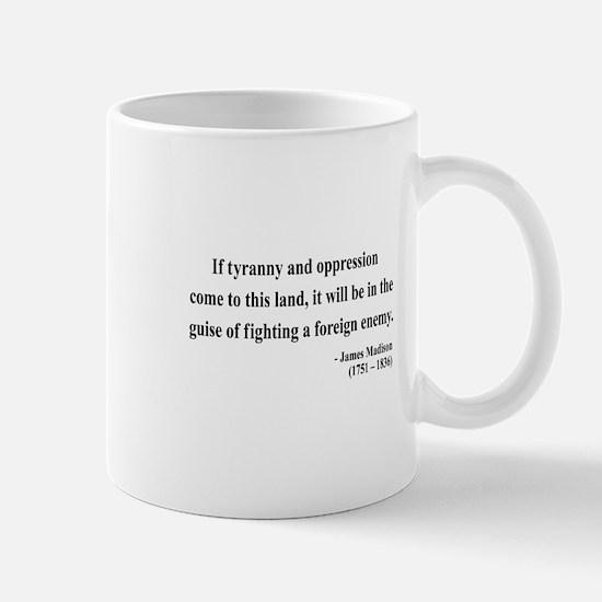 James Madison 2 Mug