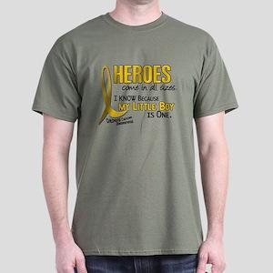 Heroes All Sizes 1 (Little Boy) Dark T-Shirt