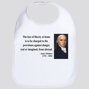James Madison 3 Bib