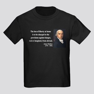 James Madison 3 Kids Dark T-Shirt