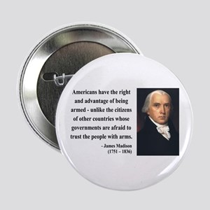"James Madison 6 2.25"" Button"