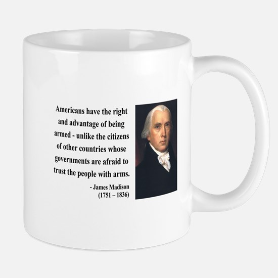 James Madison 6 Mug