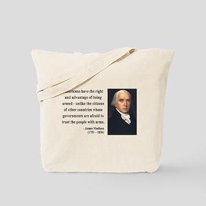 James Madison 6 Tote Bag