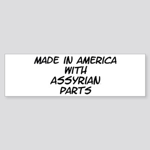Assyrian Parts Bumper Sticker