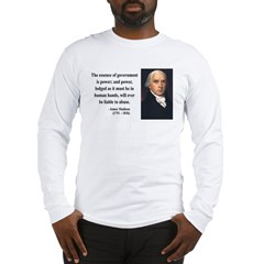 James Madison 9 Long Sleeve T-Shirt
