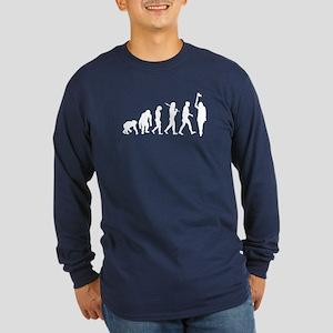 Tourist Guide Historian Long Sleeve Dark T-Shirt