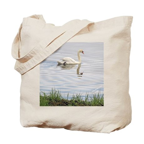 Swan on Pleasant Bay Tote Bag