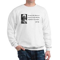 Mark Twain 39 Sweatshirt