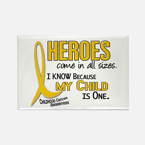 Heroes All Sizes 1 (Child) Rectangle Magnet