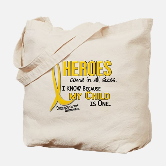 Heroes All Sizes 1 (Child) Tote Bag