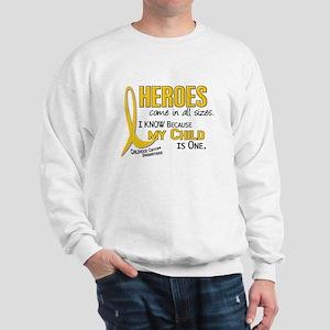 Heroes All Sizes 1 (Child) Sweatshirt