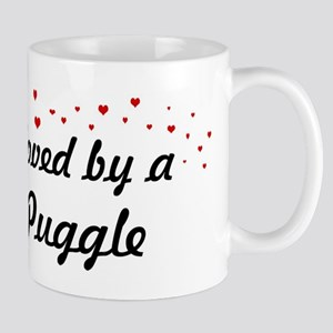 Loved By Puggle Mug