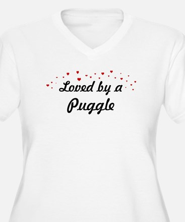 Loved By Puggle T-Shirt