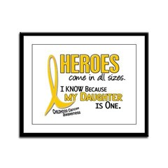 Heroes All Sizes 1 (Daughter) Framed Panel Print
