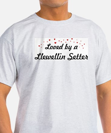 Loved By Llewellin Setter T-Shirt