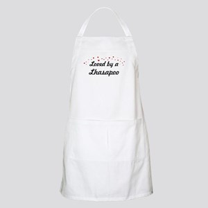 Loved By Lhasapoo BBQ Apron