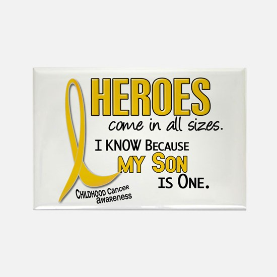 Heroes All Sizes 1 (Son) Rectangle Magnet