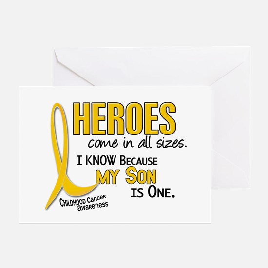 Heroes All Sizes 1 (Son) Greeting Card