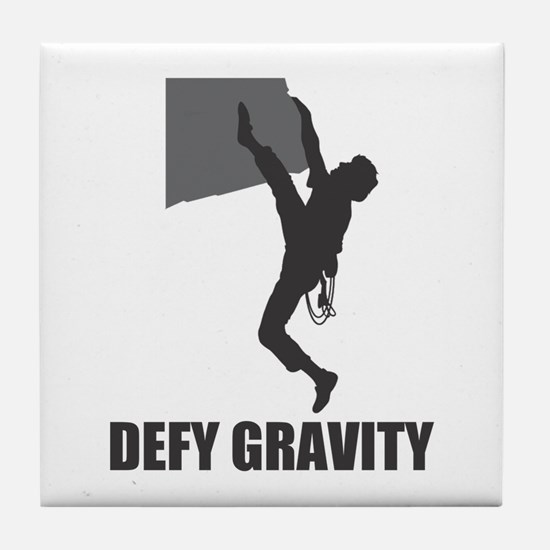 Defy Gravity Tile Coaster