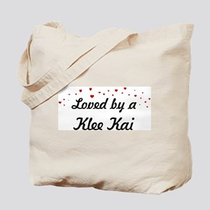 Loved By Klee Kai Tote Bag