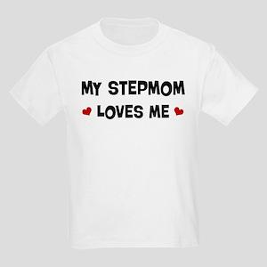 Stepmom loves me Kids Light T-Shirt