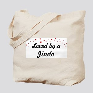 Loved By Jindo Tote Bag