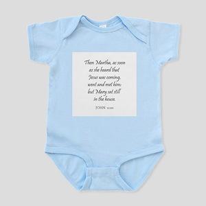 JOHN  11:20 Infant Creeper